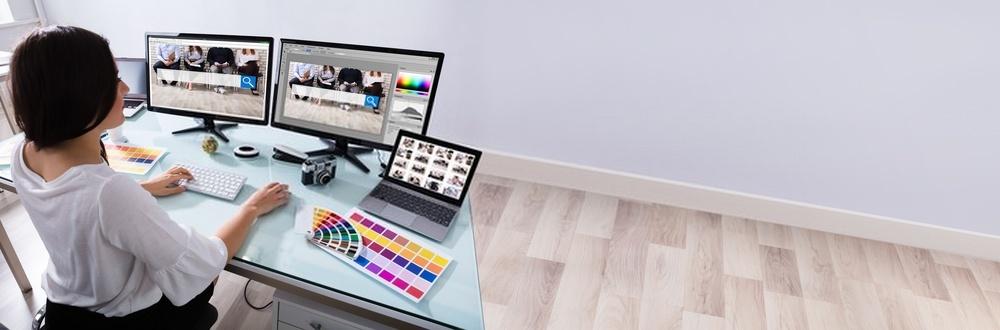 bureau ergonomique pour dessinatrice
